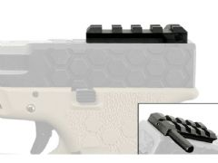 Scope Rail for Airsoft Glock G17, G18, G19, Includes Cocking Lever